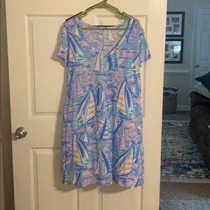 EUC Lilly Pulitzer Jessica Dress - large Perfect!